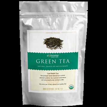 Extended Health Organic Green Tea 4 oz E32114
