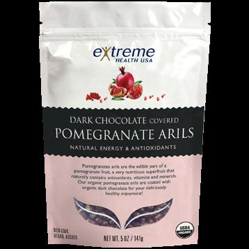 Extended Health Organic Pomegranate Arils DKChoc 5 oz E37719