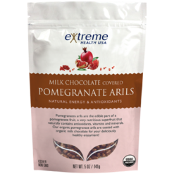 Extended Health Organic Pomegranate Arils Milk Choc 5 oz E37726