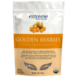 Extended Health Organic Raw Golden Berries 5 oz E31947