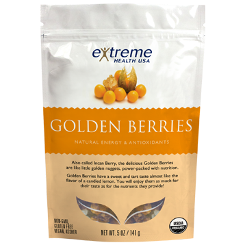 Extended Health Organic Raw Golden Berries 5 oz E31947