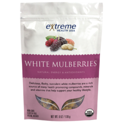 Extended Health White Mulberries Organic 6 oz E31923
