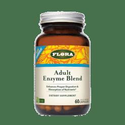 Flora Adult Enzyme Blend 60 caps F13702