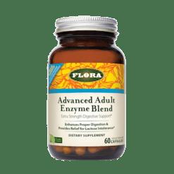 Flora Advanced Adult Enzyme Blend 60 caps F13795