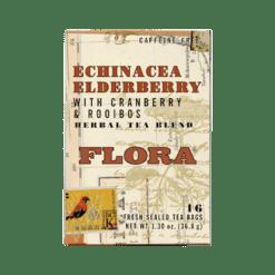 Flora Flora Echinacea Elderberry 16 teabags F37623