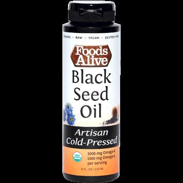Foods Alive Black Seed Cumin Oil 8 fl oz FAL645