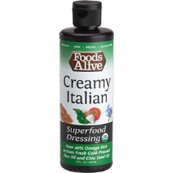 Foods Alive CreamyItalian Superfood Dressing 8 fl oz FAL577