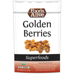 Foods Alive Golden Berries 8 oz FAL898