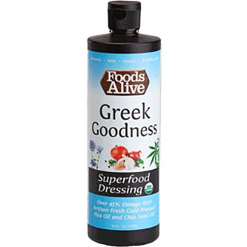 Foods Alive GreekGoodness Superfood Dressing 8 fl oz FAL522