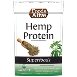 Foods Alive Hemp Protein Powder 8 oz FAL355