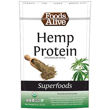 Foods Alive Hemp Protein Powder 8 oz FAL355