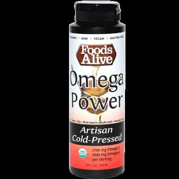 Foods Alive Omega Power Oil 8 fl oz FAL737