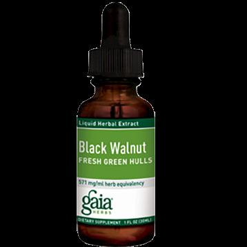 Gaia Herbs Black Walnut Hulls 1 oz BLAC5