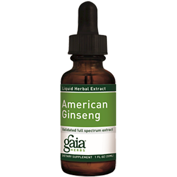 Gaia Herbs Ginseng Root American 1 oz GINS3