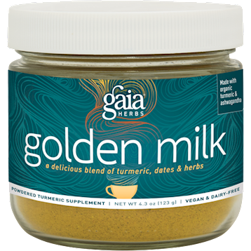 Gaia Herbs Golden Milk 4.3 oz G49273