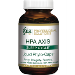 Gaia Herbs HPA Axis Sleep Cycle 120 liquid caps G4957