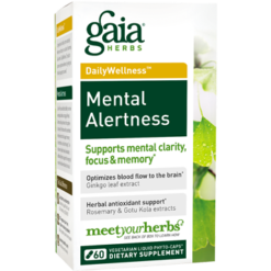Gaia Herbs Mental Alertness 60 lvcaps MEN20