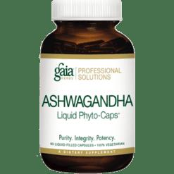 Gaia Herbs Professional Solutions Ashwagandha Liquid Phyto Caps 60 caps ASHW