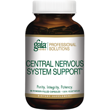 Gaia Herbs Professional Solutions Central Nervous System Support 60 caps G50200