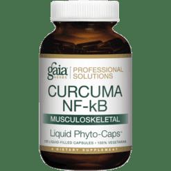 Gaia Herbs Professional Solutions Curcuma NF kB Musculoskeletal 120 capsules G46500