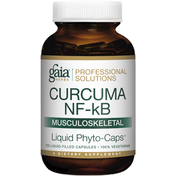 Gaia Herbs Professional Solutions Curcuma NF kB Musculoskeletal 120 capsules G46500