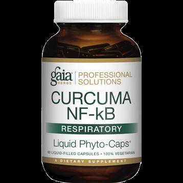 Gaia Herbs Professional Solutions Curcuma NF kB Respiratory 60 capsules G46487