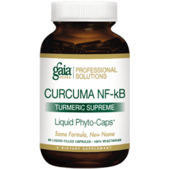 Gaia Herbs Professional Solutions Curcuma NF kB Turmeric Supreme 60 caps TUR20