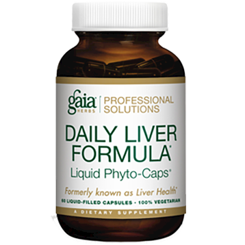Gaia Herbs Professional Solutions Daily Liver Formula 60 lvcaps G99043