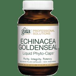 Gaia Herbs Professional Solutions Echinacea Goldenseal Pro 60 lvcaps ECH75