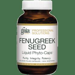 Gaia Herbs Professional Solutions FenuGreek Seed Pro 60 lvcaps FEN20