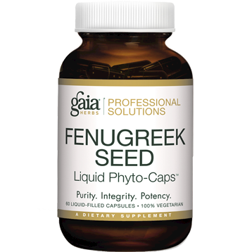Gaia Herbs Professional Solutions FenuGreek Seed Pro 60 lvcaps FEN20