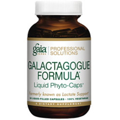 Gaia Herbs Professional Solutions Galactagogue Formula 60 lvcaps LACT9
