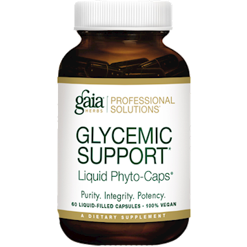 Gaia Herbs Professional Solutions Glycemic Support 60 liquid caps GLY23