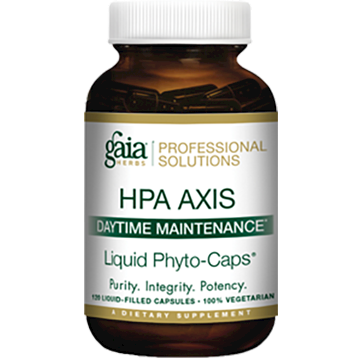 Gaia Herbs Professional Solutions HPA Axis Daytime Maintenance 120 liquid capsules ADR68