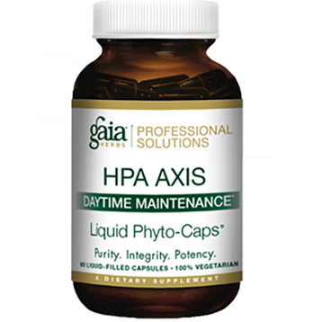 Gaia Herbs Professional Solutions HPA Axis Daytime Maintenance 60 lvcaps ADR38