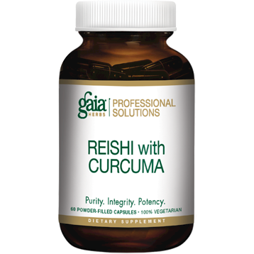 Gaia Herbs Professional Solutions Reishi with Curcuma 60 caps G50194