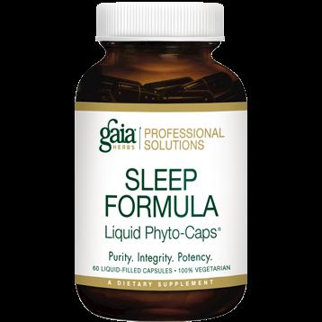 Gaia Herbs Professional Solutions Sleep Formula 60 caps by Gaia Herbs Professional Solutions SOUND