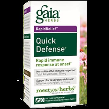 Gaia Herbs Quick Defense 20 caps QUICK