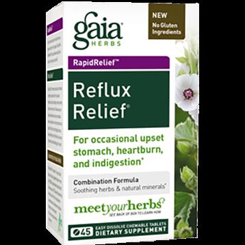 Gaia Herbs Reflux Relief 45 tabs G46838