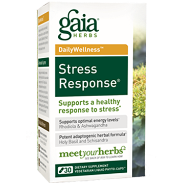 Gaia Herbs Stress Response 30 caps STR18