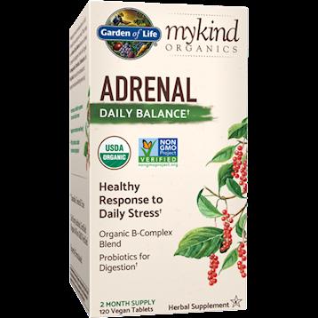 Garden of Life Adrenal Daily Balance Organic 120 vtabs G21866