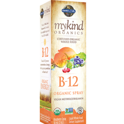 Garden of Life B 12 Spray Organic Vegan 2 oz G17791