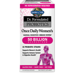 Garden of Life Dr Formulated Once Daily Wom 30 vegcaps G18323