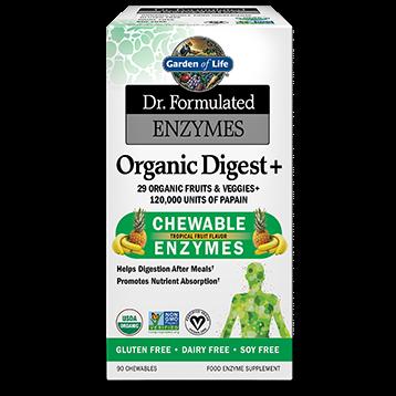 Garden of Life Dr. Formulated Organic Digest 90 chews G18439