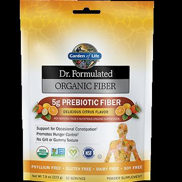 Garden of Life Dr. Formulated Organic Fiber Citr 7.9 oz G18415