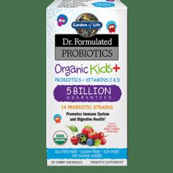 Garden of Life Dr. Formulated Organic Kids 30 chews G18422
