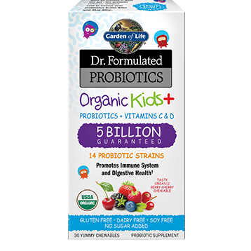 Garden of Life Dr. Formulated Organic Kids 30 chews G18422