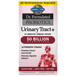 Garden of Life Dr. Formulated Urinary Tract 60 vegcaps G18347