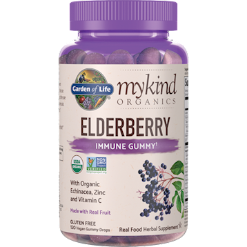 Garden of Life Elderberry Organic 120 gummies G21774