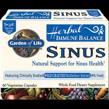 Garden of Life Immune Balance™ Sinus 60 vcaps G15858